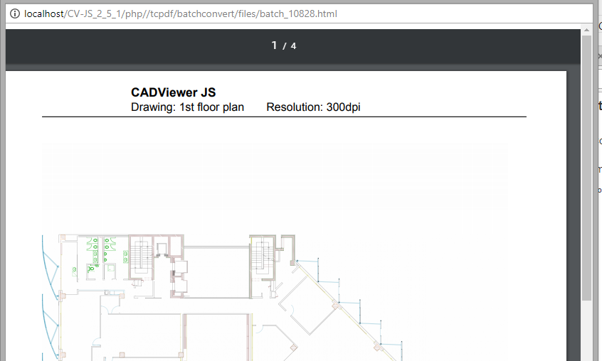 CADViewer JS Download Environment and Samples
